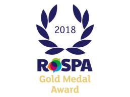 RoSPA Gold Medal Award 2018