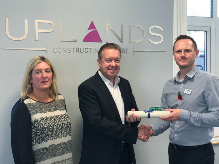 Uplands earns Chartered Building Contractor status