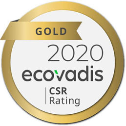 EcoVadis Gold Medal for Corporate Social Responsibility